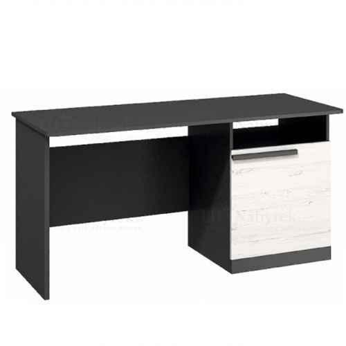 PC stůl, sosna andersen/šedá grafit, BEVERLY