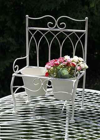 Stojan na květiny kovový