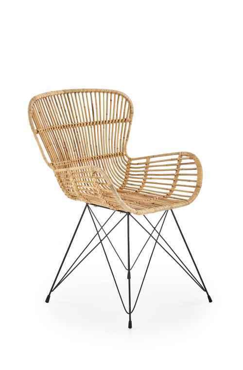 Židle K335 ratan přírodní
