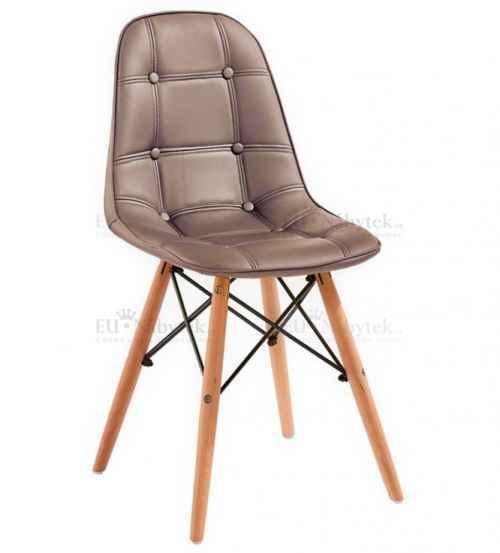 Skandinávská židle SASSY hnědá DOPRODEJ