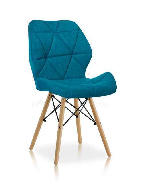 Skandinávská židle LIOTTE BIG 2 modrá