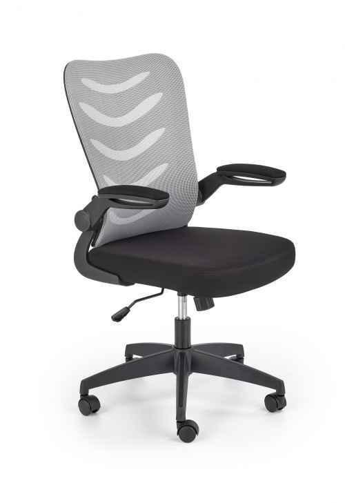 Kancelářská židle LOVREN šedá / černá