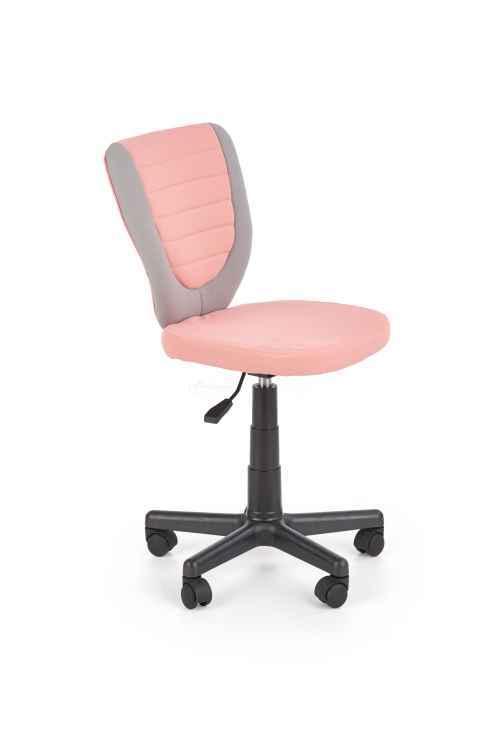 Kancelářská židle TOBY šedá / růžová