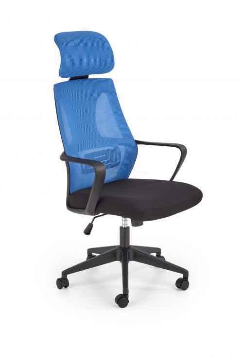 Kancelářská židle VALDEZ modrá / černá