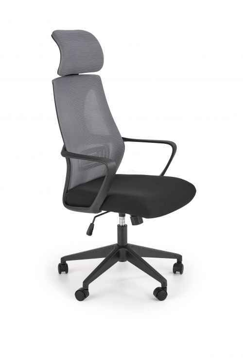 Kancelářská židle VALDEZ šedá / černá