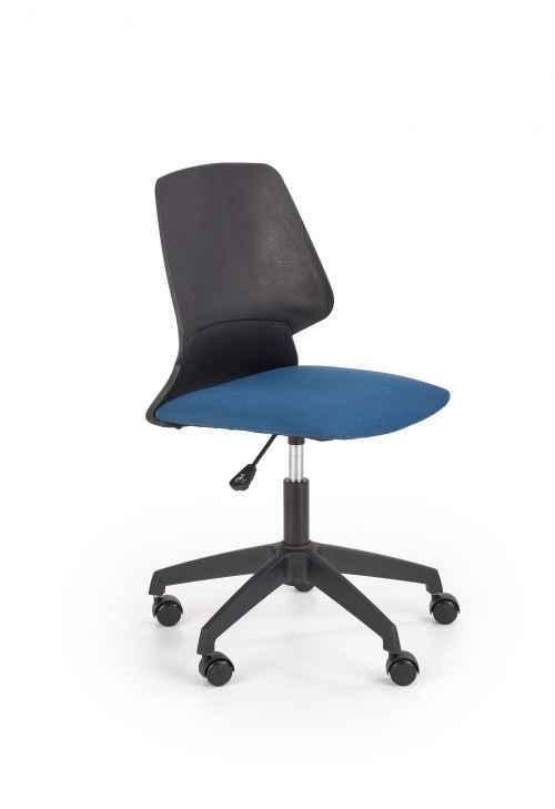 Kancelářská židle GRAVITY černá / modrá