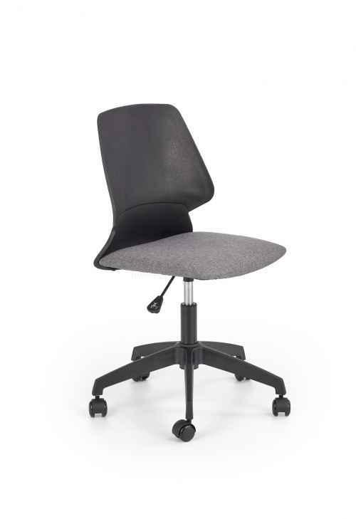 Kancelářská židle GRAVITY černá / šedá