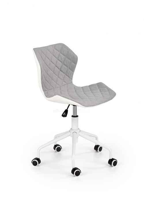 Kancelářská židle MATRIX 3 světle šedá / bílá