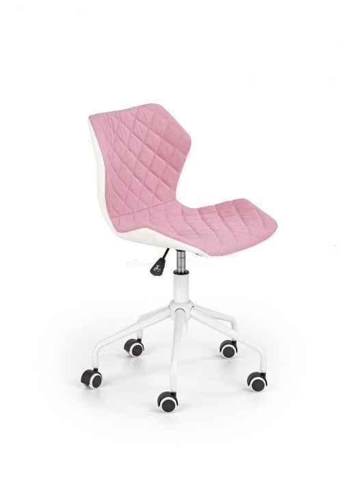 Kancelářská židle MATRIX 3 světle růžová / bílá