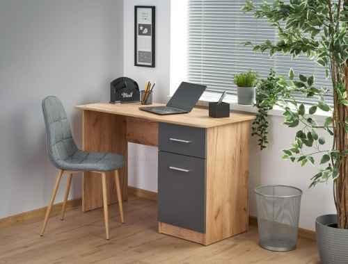 Stůl ELMO dub wotan / antracit
