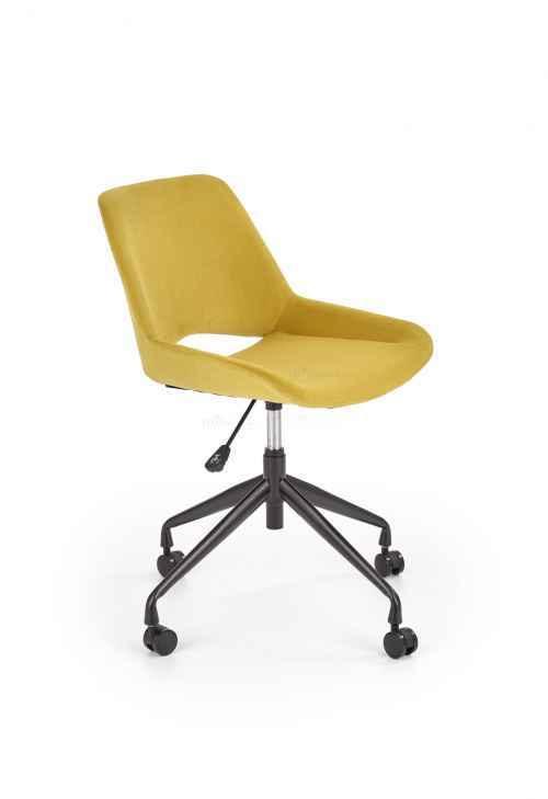 Kancelářská židle SCORPIO hořčicová