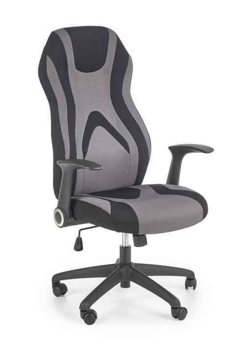 Kancelářské křeslo JOFREY černá / šedá