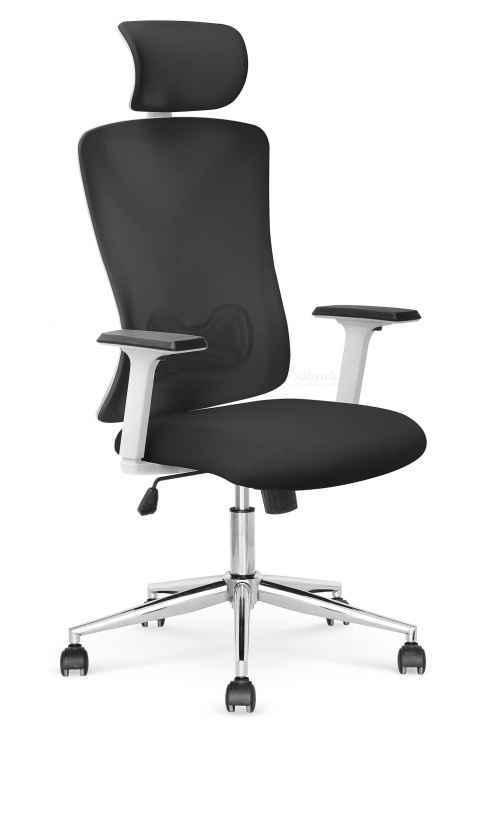 Kancelářská židle ENRICO černá / bílá