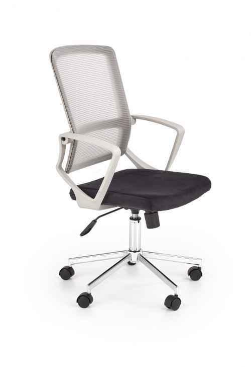 Kancelářská židle FLICKER šedá / černá