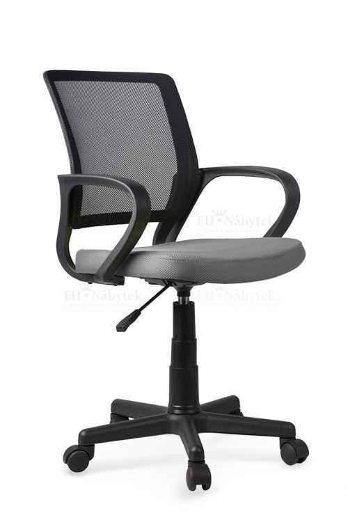 Kancelářská židle JOEL černá / šedá