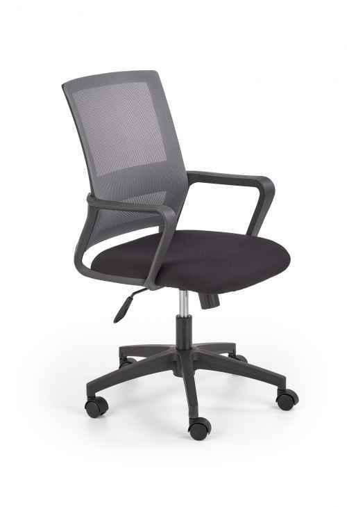 Kancelářská židle MAURO černá / šedá