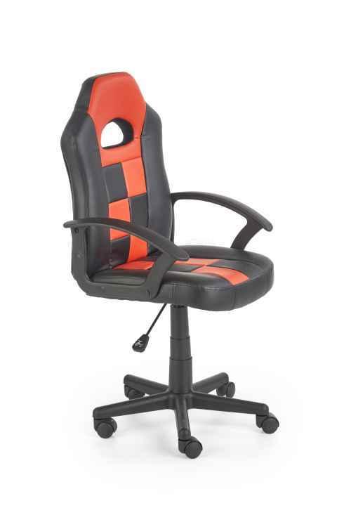 Kancelářská židle STORM černá / červená