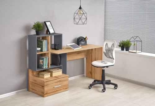 Stůl GROSSO dub wotan / antracit