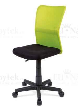 OFFICE CHAIR BACK GREEN MESH / SEAT BLACK MESH